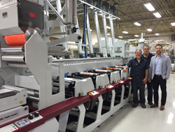 The Mark Andy Performance Series P5 bei iFLEX Labels