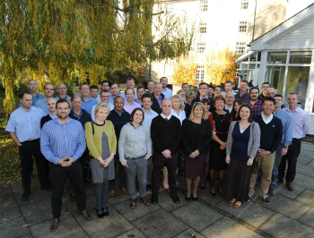 The GIS team celebrates its 10th anniversary