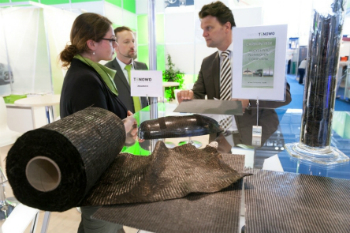 The success of Techtextil 2015 is expected to be surpassed this year (photo: Messe Frankfurt/Jean-Luc Valentin)