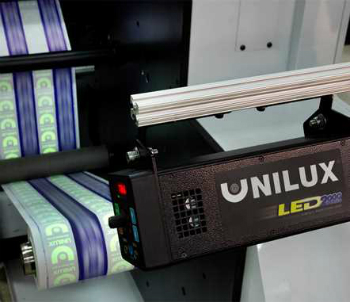 Unilux will demonstrate new LED-UV strobes, the only strobes for inspection of optical brighteners in inks and coatings