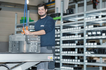 EREMA has opened a new assembly shop at its site in Ansfelden at the end of April (photo: EREMA Group)