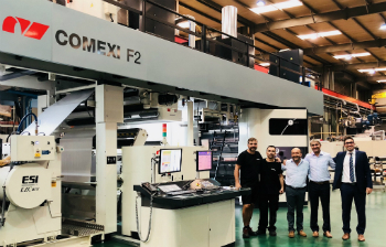 In India, gravure printing is increasingly replaced by flexographic technologies (photo: Comexi)