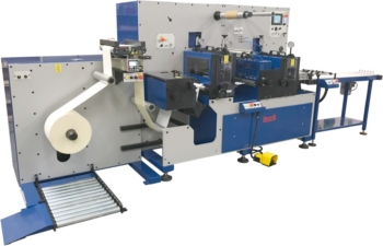 The Daco D350S A4 laser label production line (photo: Daco Solutions)