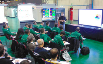 Training sessions in Comexi's CTec (photo: Comexi)