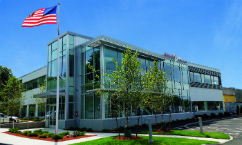 The new Pfeiffer Vacuum building in Nashua (photo: Pfeiffer Vacuum)