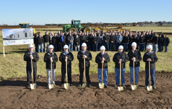 Groundbreaking ceremony at Nordson's new facility in Chippewa Falls (photo: Nordson)