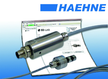 IO-Link amplifier with force measurement sensor (photo: HAEHNE)