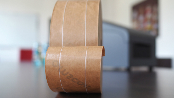 Wet adhesive tapes from natural fibres (photo: NEUBRONNER)