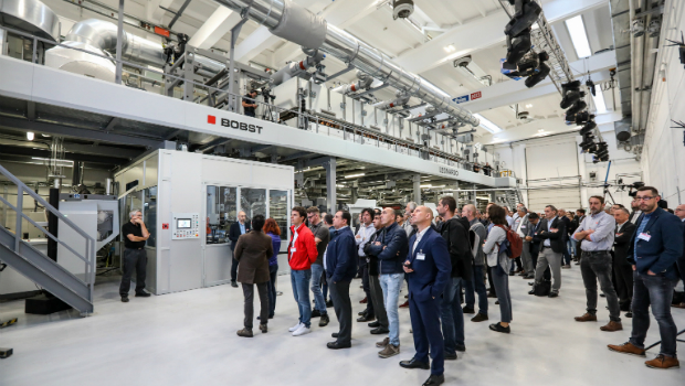 Impressions from the open house at Bobst Italia.