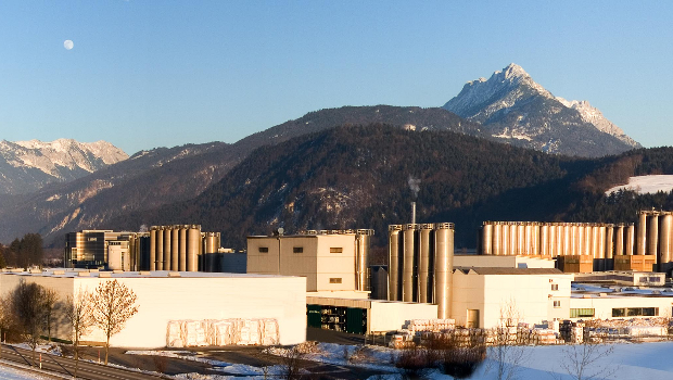 The Coveris plant in Kufstein.